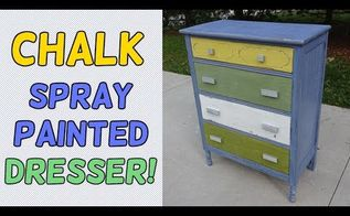 bring new life to a dresser with chalk sp