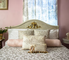 how to easily make pretty mitered corner pillow shams