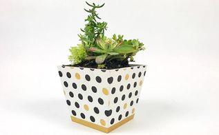 decorate an ikea flower pot using nbsp craft stencilswelcome back