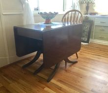 q help with drop leaf table want to paint or lighten