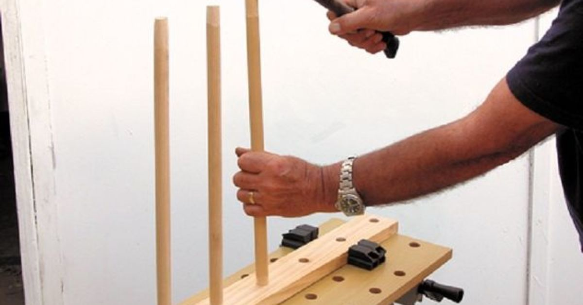 diy wooden hanging pot rack hometalk