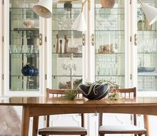eclectic mid century dining room