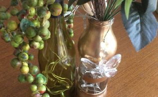 wine bottle christmas craft tutorial