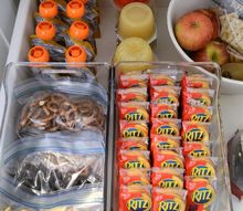 back to school pantry organization
