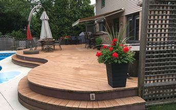 q cleaning mould from trex deck