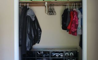 repurpose your boxes into closet organizers