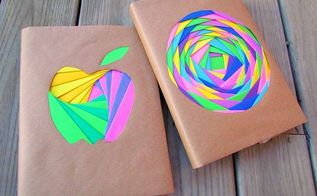 iris folded book covers