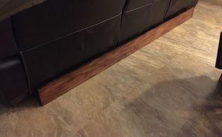 sofa baseboard hides ugly cords mechanics