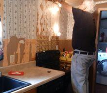 q can i use wood pallets for my kitchen backsplash