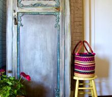 how to paint furniture blend color with a spray bottle and clay molds