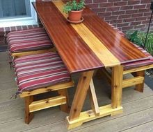 small picnic table