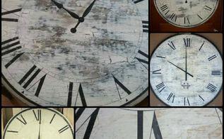 diy large vintage style clock