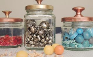 how to turn common jars into exquisite decorative containers