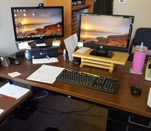 q upgrade an old metal steelcase desk