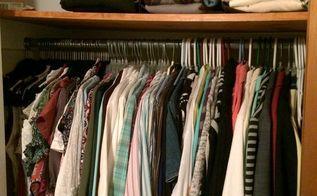 organize a small closet for under 50