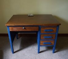 old abused desk finds a new home