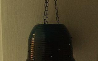 flower pot to star lamp