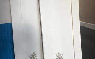 raised pineapple stencil