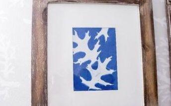 make art with nature sun prints