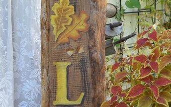 diy fall front porch sign