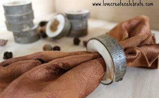 wooden napkin rings