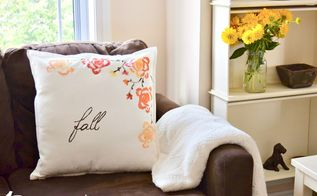 use celery to make a beautiful fall pillow