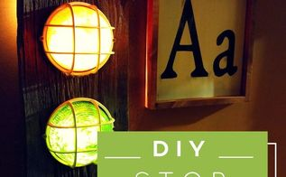 diy stoplight nightlight