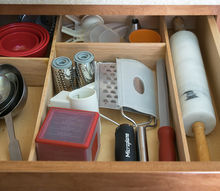custom kitchen drawer organization