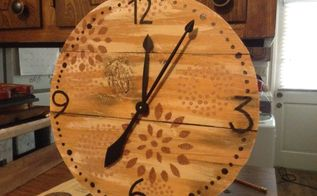 my rustic time piece
