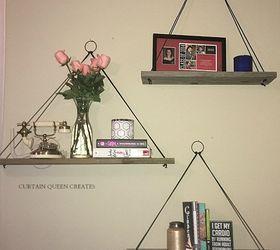 DIY Hanging Wall Shelves Hometalk