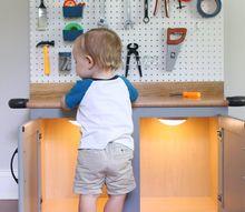 diy kid s tool bench