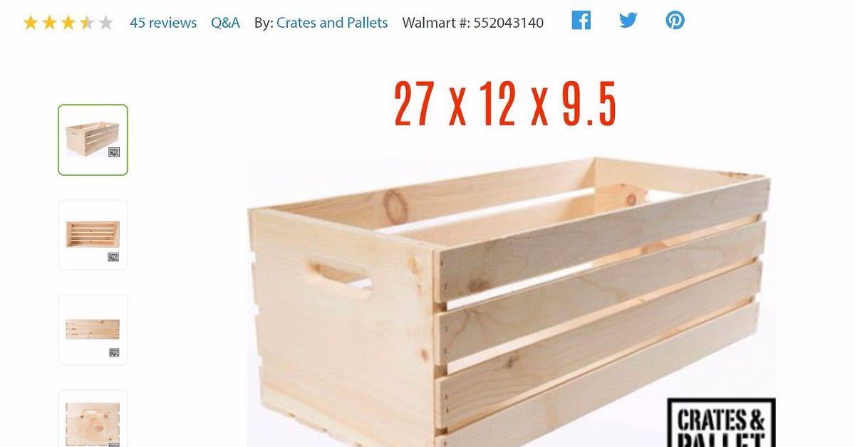 Crate bedside tables hometalk for Wooden crate bedside table