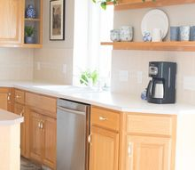 the amazing 10 dollar mini kitchen makeover no cabinet painting, The Completed Kitchen