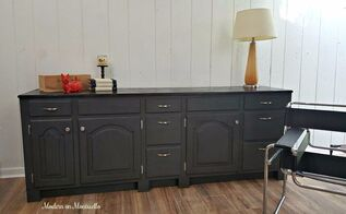 repurposed bath vanity to custom furniture cabinet