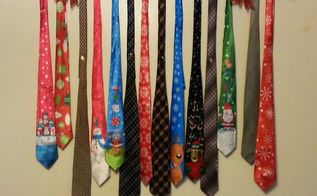 neck tie wall art perfect for a man cave