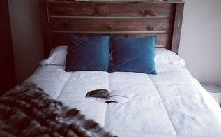 quick rustic headboard