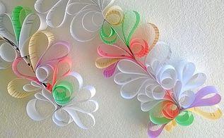 diy anthropologie inspired swirls room decoration