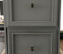 thrift store filing cabinet office hack w chalk paint by annie sloan