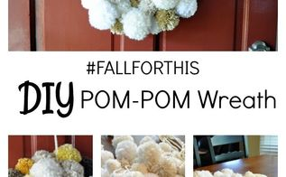 pom pom fall wreath