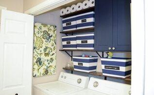 modern farmhouse laundry room makeover