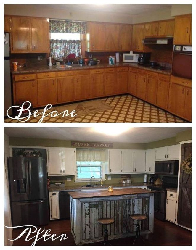 1970s Kitchen Makeover By Junk Love Boutique Hometalk