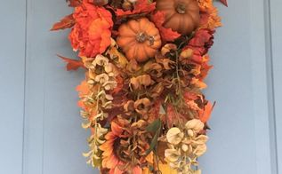 luxurious fall swag for your front door