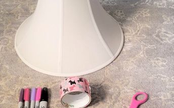 lampshade upcycle into cat wigwam teepee