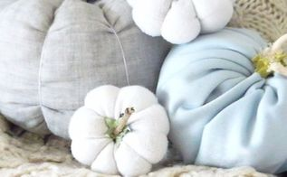 easy fall ideas diy fabric pumpkins