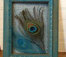 simple diy peacock decor