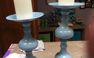another thrift store lamp repurpose