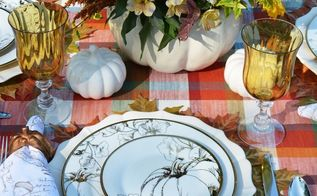 create a blooming pumpkin from a soup tureen