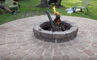 family fire pit