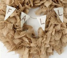 fall burlap wreath make this for your home