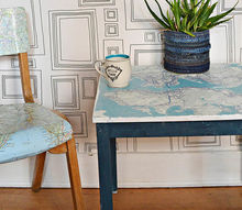 make a stunning map table of your favourite city an ikea hack